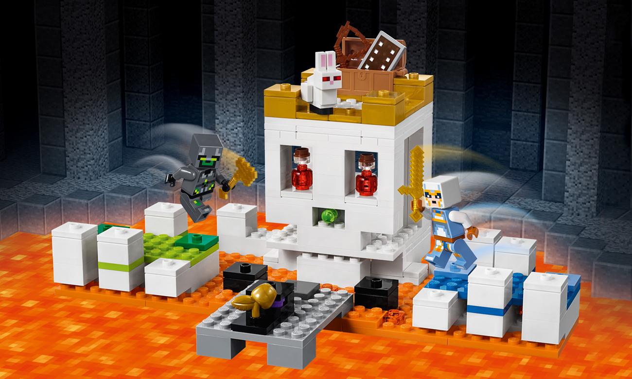 LEGO Minecraft Czaszkowa arena