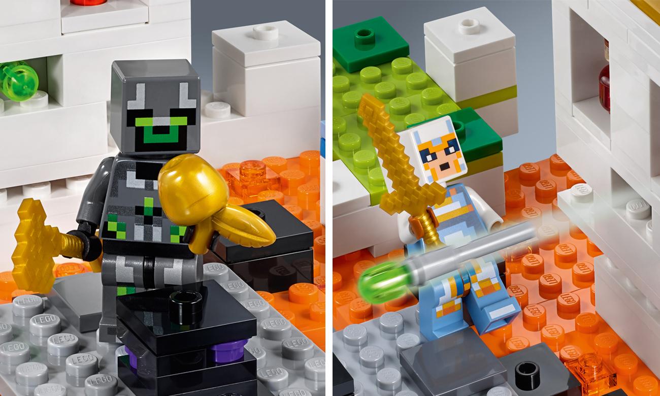 lego minecraft arena