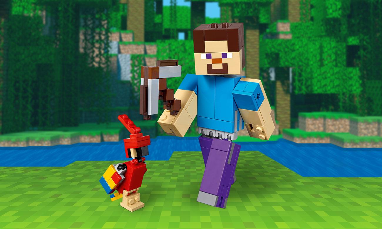LEGO Minecraft Przygody na skale macierzystej