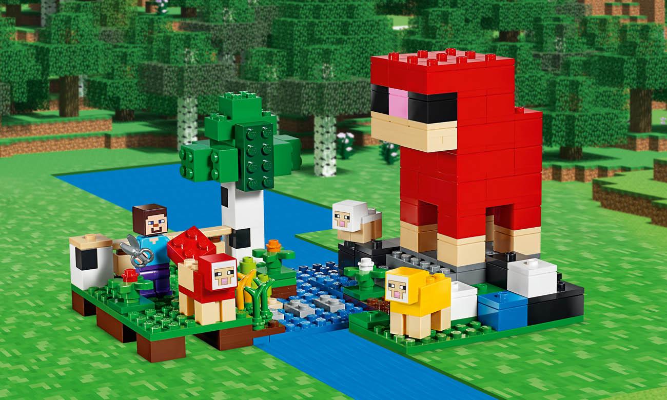 LEGO® Minecraft 21153 Hodowla owiec