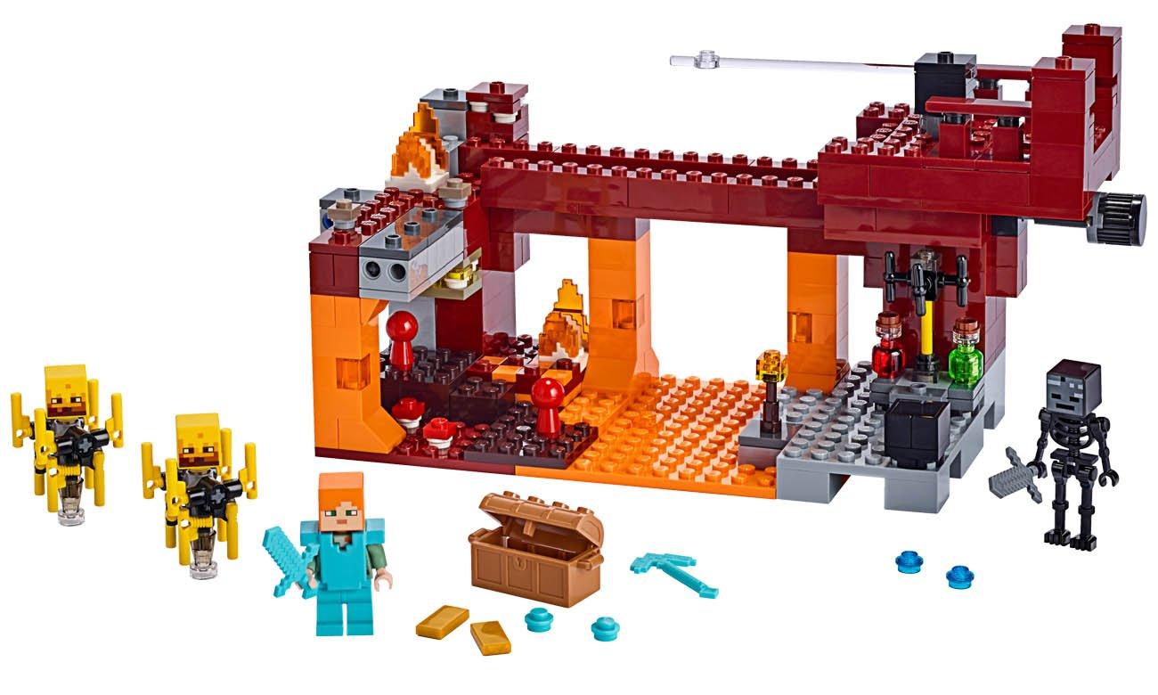 LEGO® Minecraft 21154 Most Płomyków
