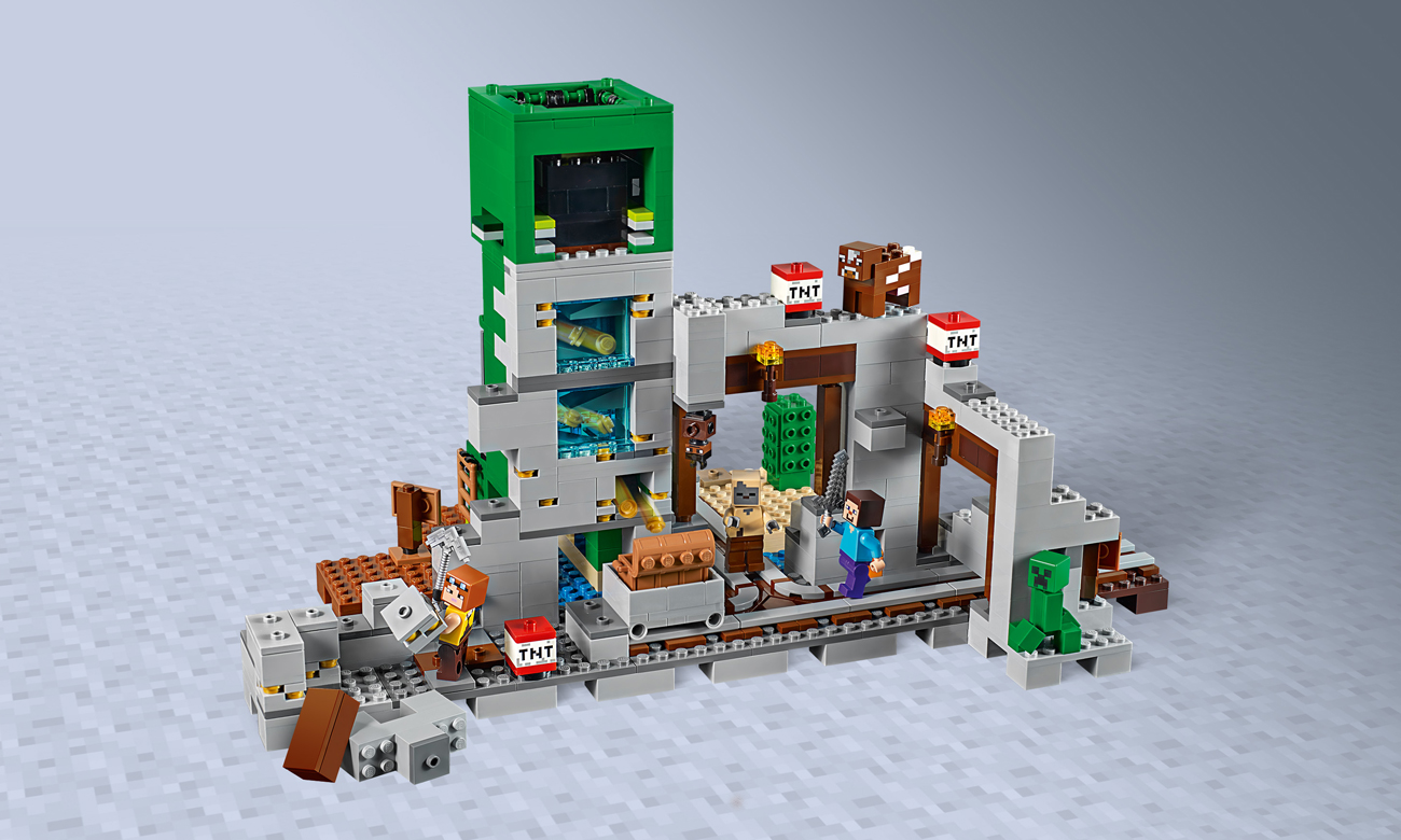 LEGO® Minecraft™ 21155 Kopalnia Creeperów™