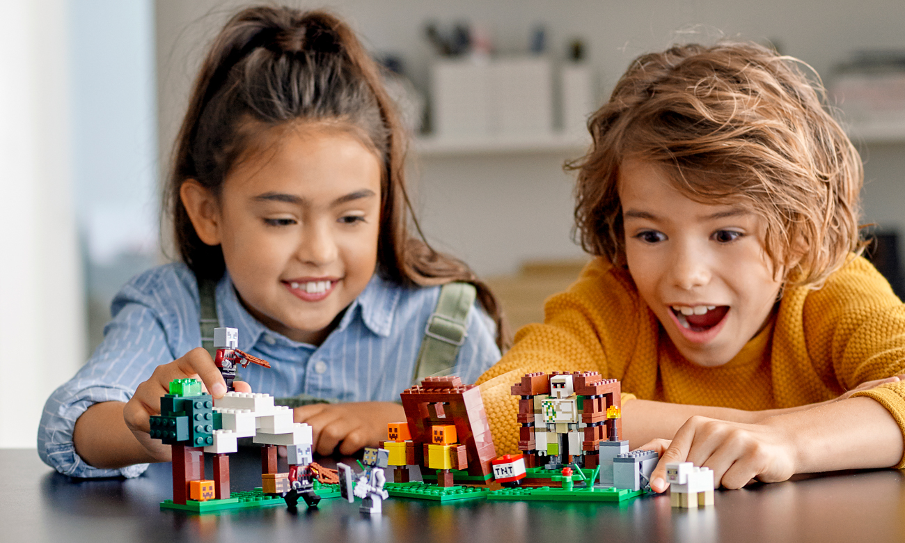 lego minecraft figurki