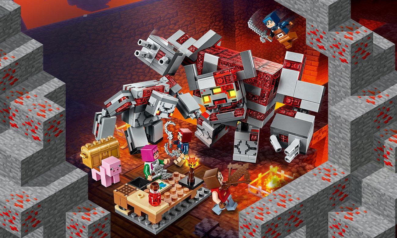 LEGO Minecraft Bitwa o czerwony kamień
