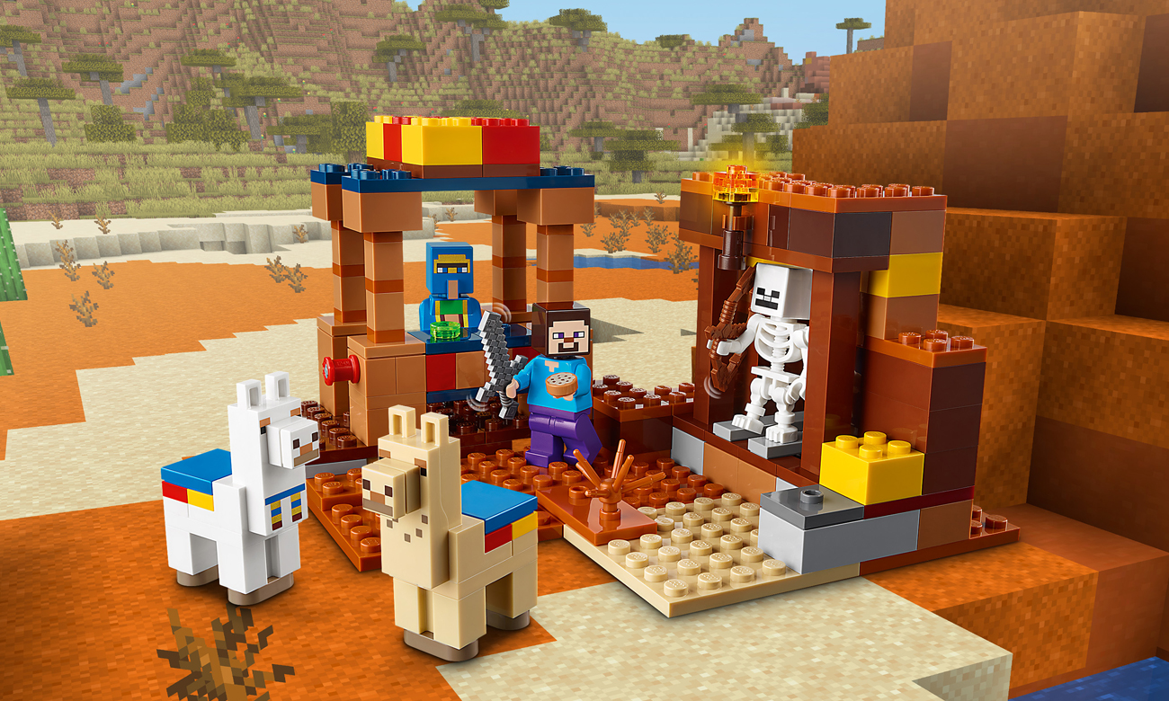 LEGO Minecraft Punkt handlowy