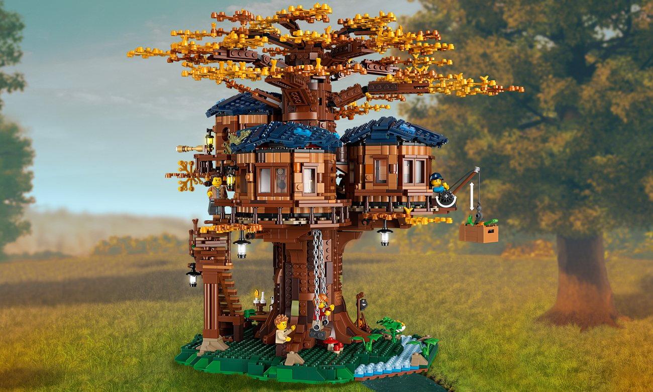 drzewo z klocków lego