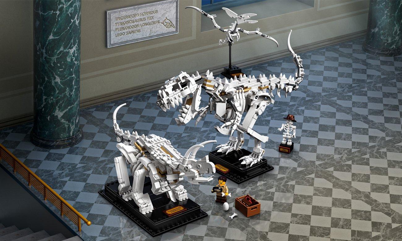LEGO Ideas Szkielety dinozaurów