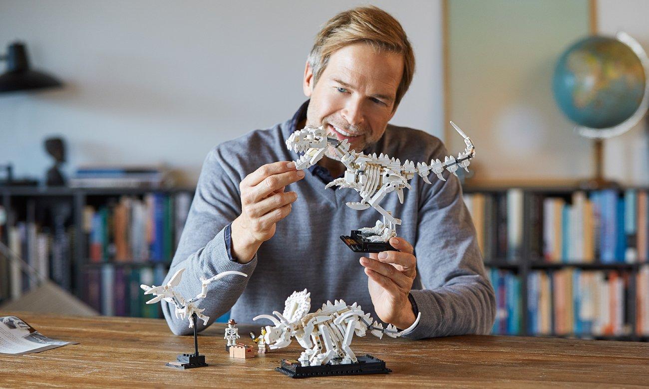 dinozaury z klocków lego
