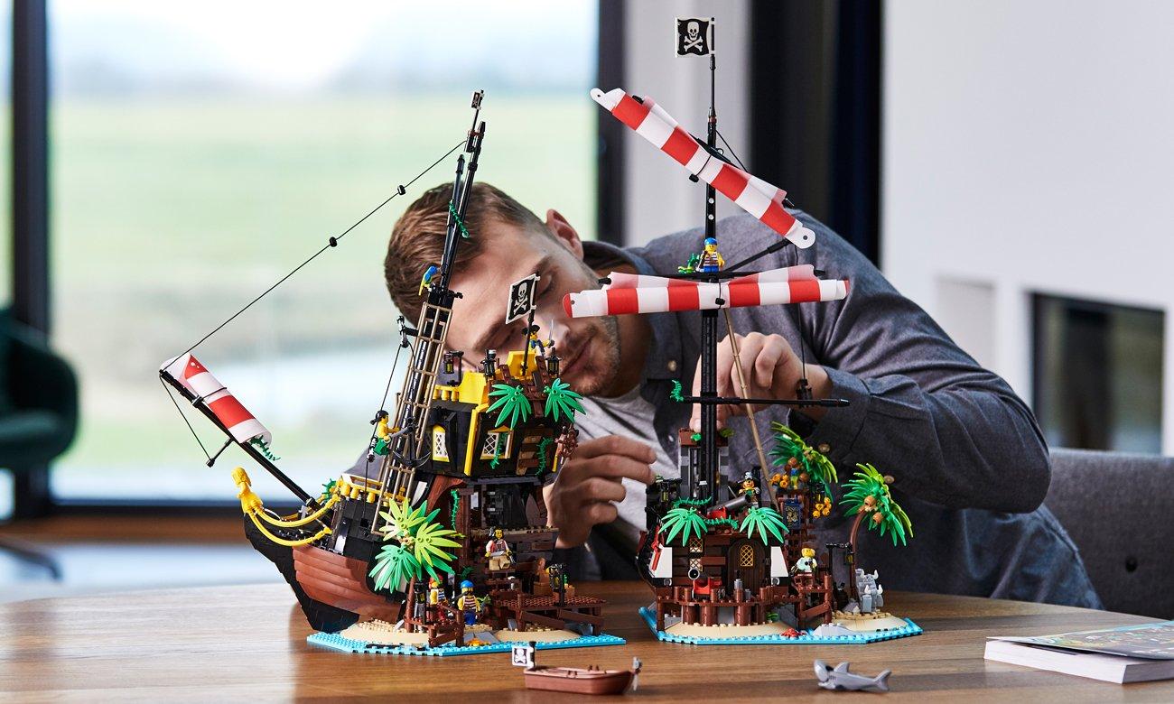 statek pirackiz klocków lego