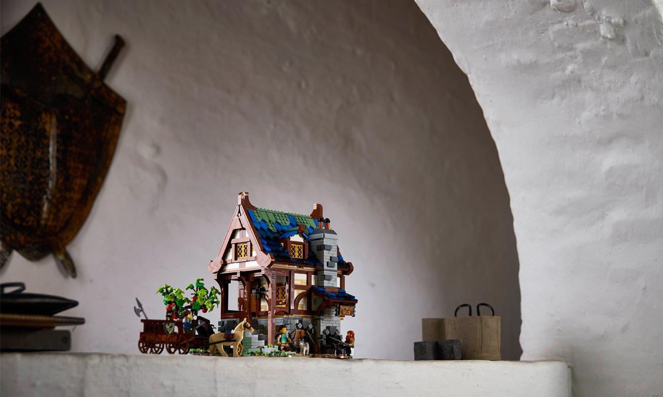 lego średniowiecze budynki