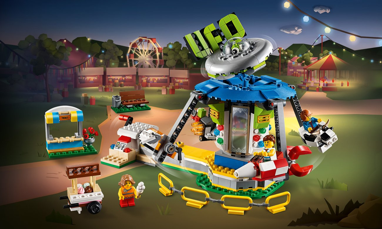 LEGO Karuzela w wesołym miasteczku