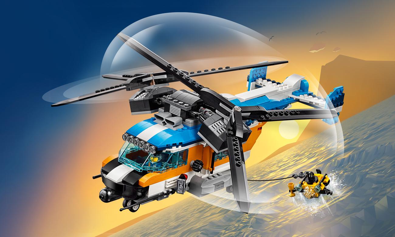 LEGO Creator Śmigłowiec dwuwirnikowy