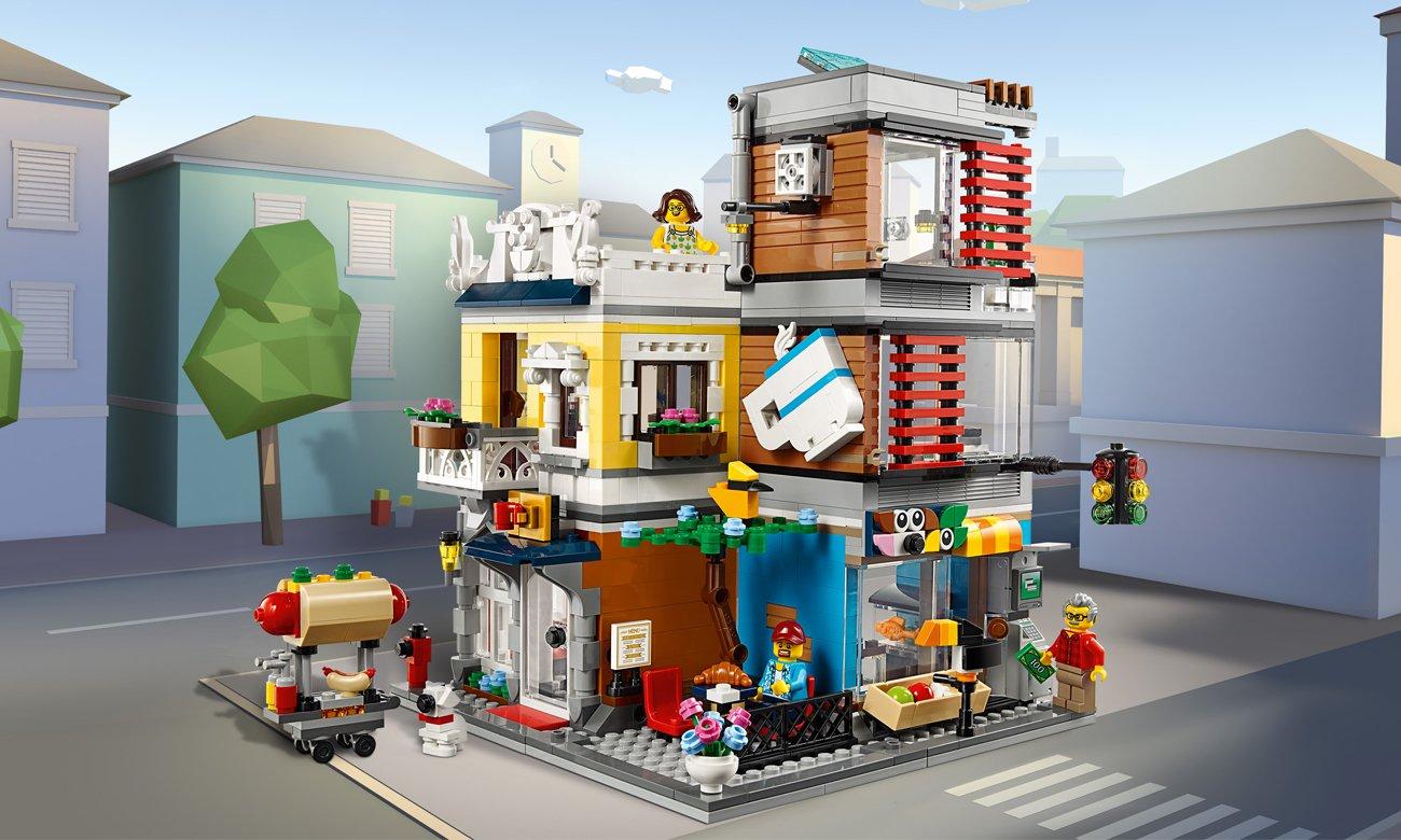 LEGO Creator Sklep zoologiczny i kawiarenka