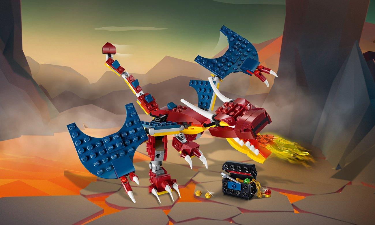 LEGO Creator Smok ognia