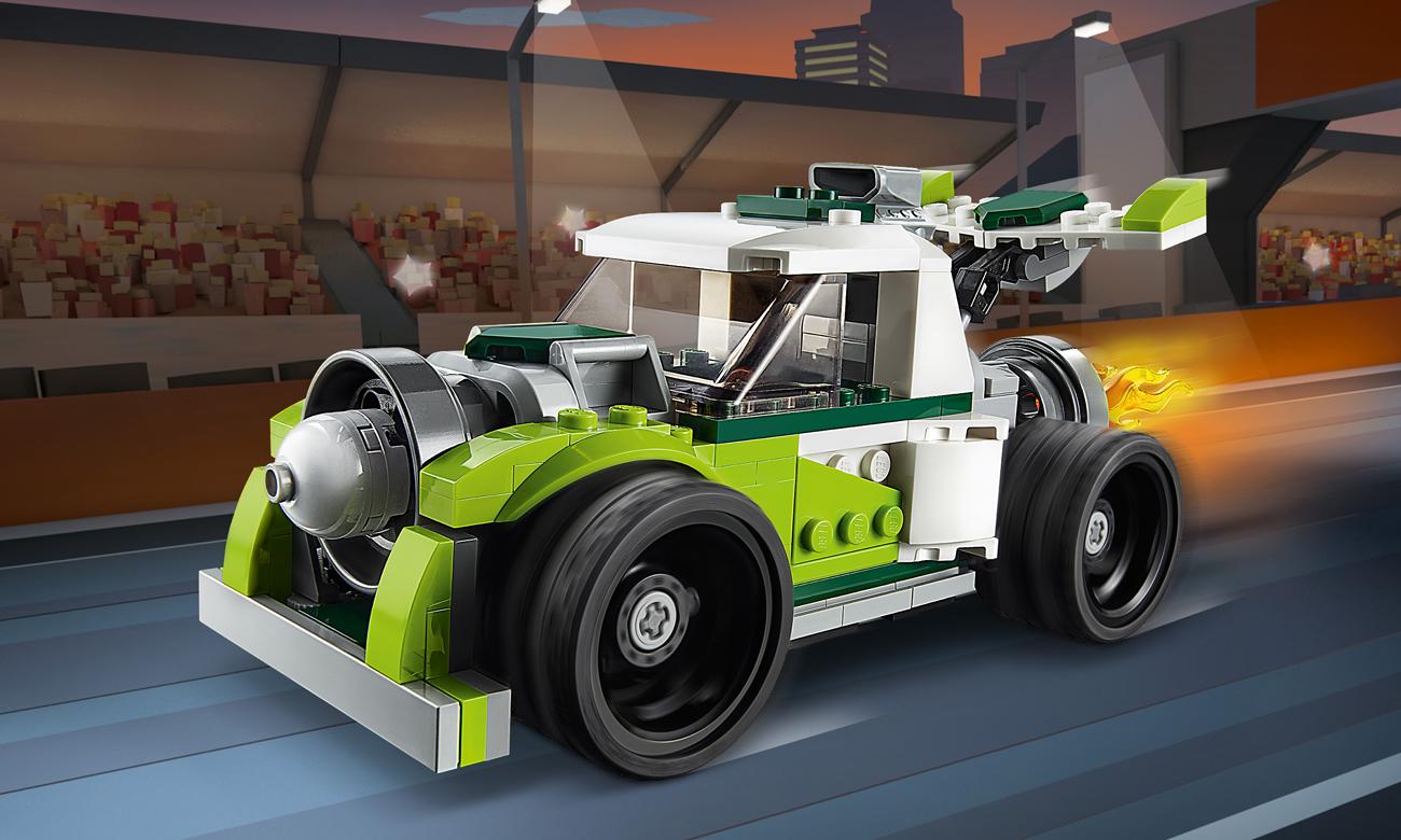 LEGO Creator Rakietowy samochód