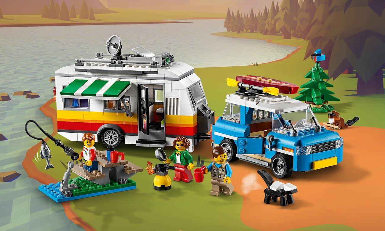 LEGO Creator Wakacyjny kemping z rodziną