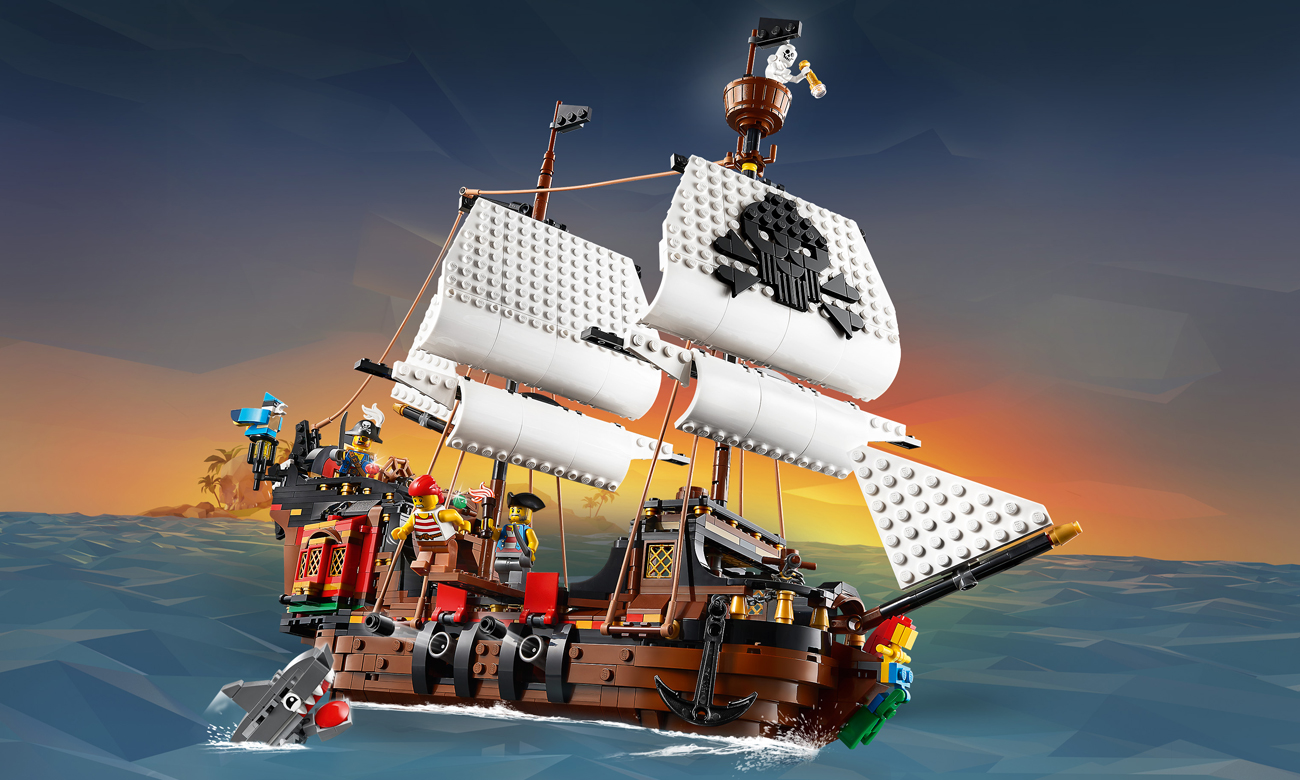 LEGO Creator Statek piracki