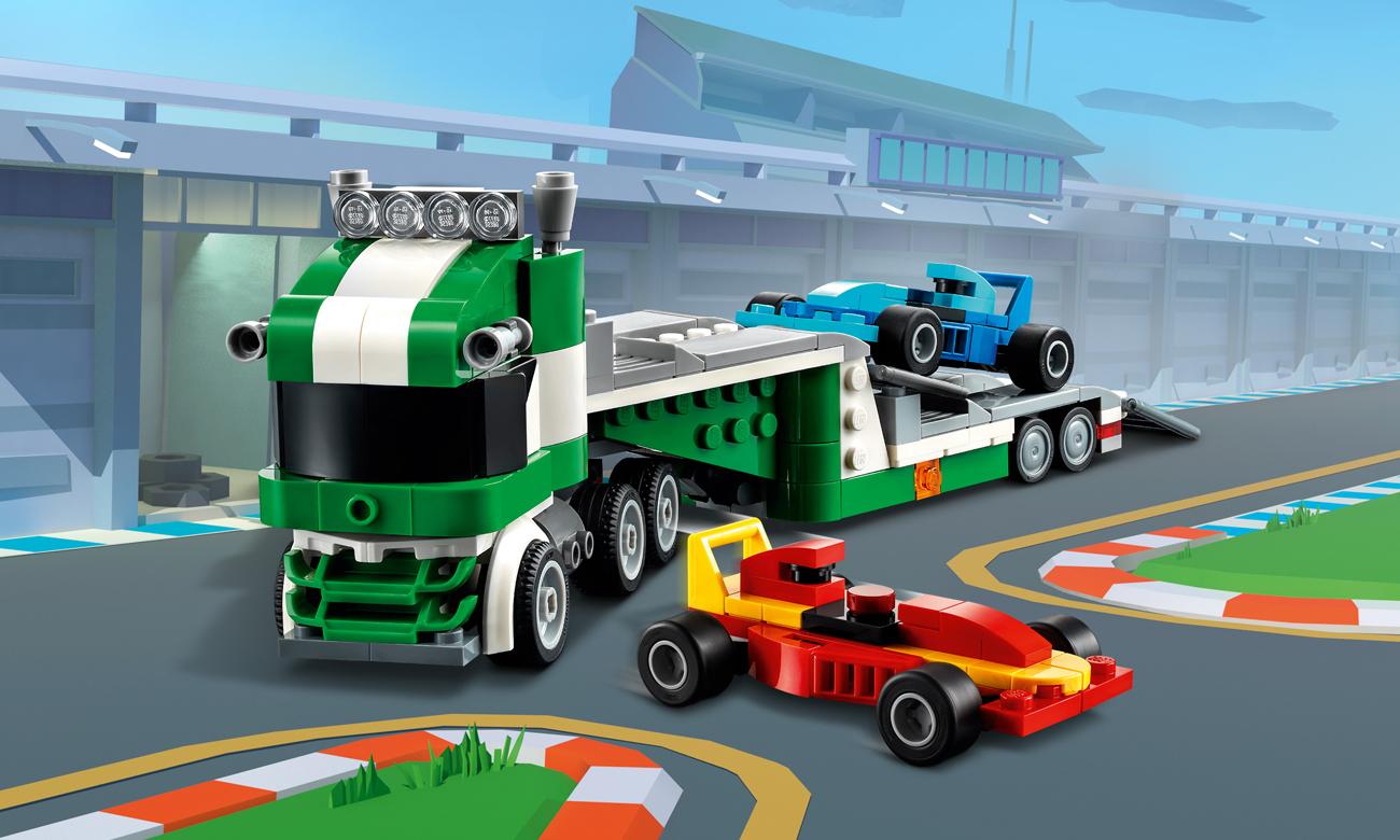 LEGO Creator Laweta z wyścigówkami