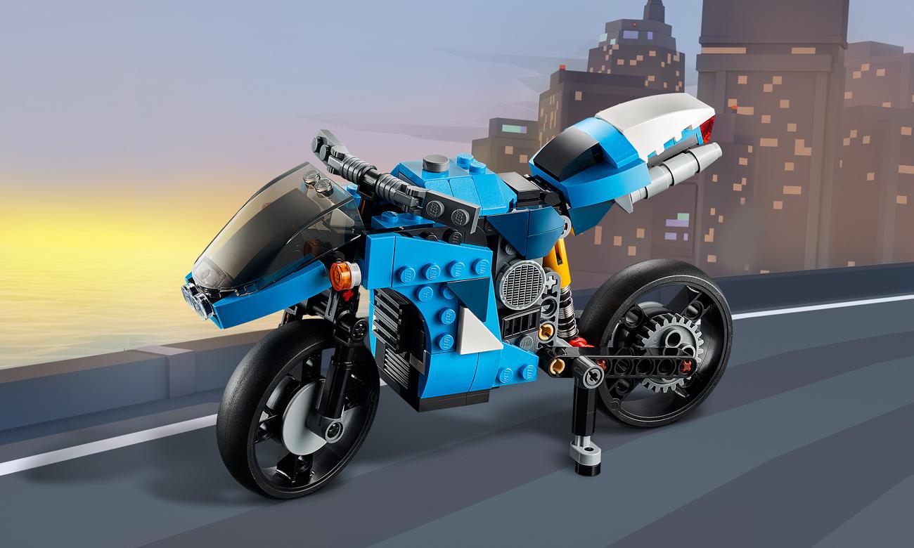 LEGO Creator Supermotocykl