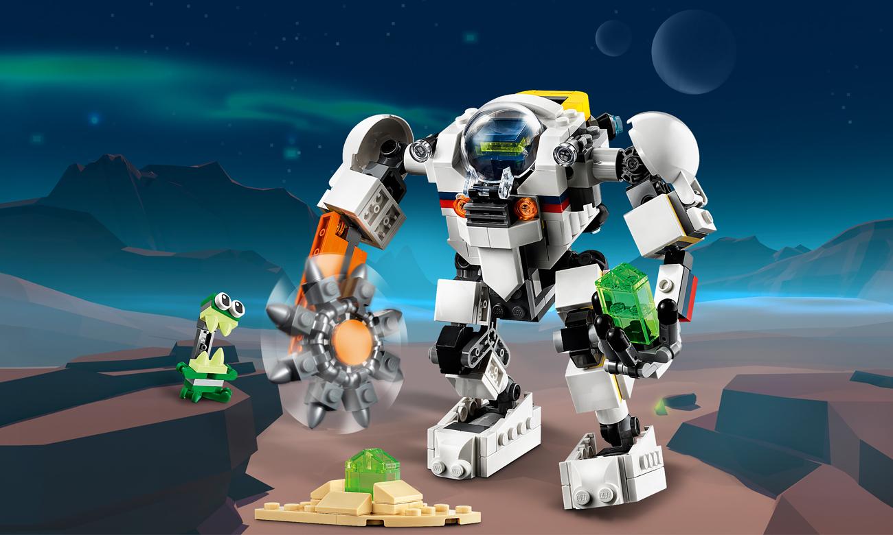 LEGO Creator Kosmiczny robot górniczy