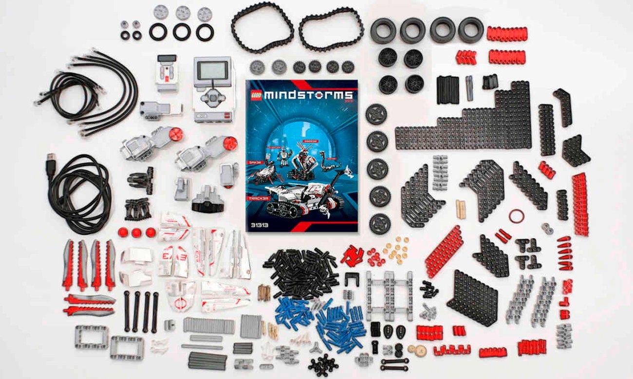 LEGO Mindstorms zawartość zestawu