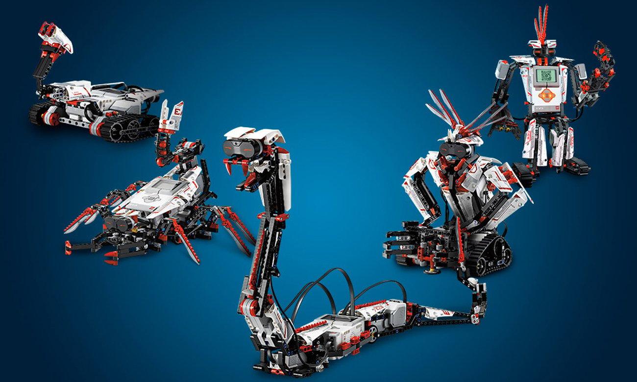 zdalnie sterowane roboty z LEGO Mindstorms