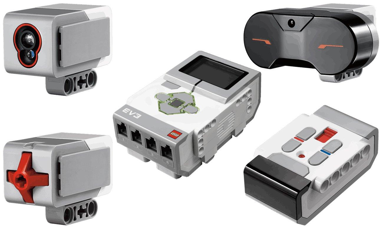 czujniki zestawu LEGO Mindstorms EV3