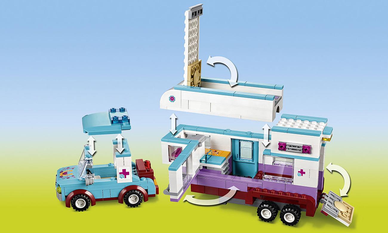 Lego Friends Przyczepa Lecznicza Dla Koni Klocki Lego Sklep