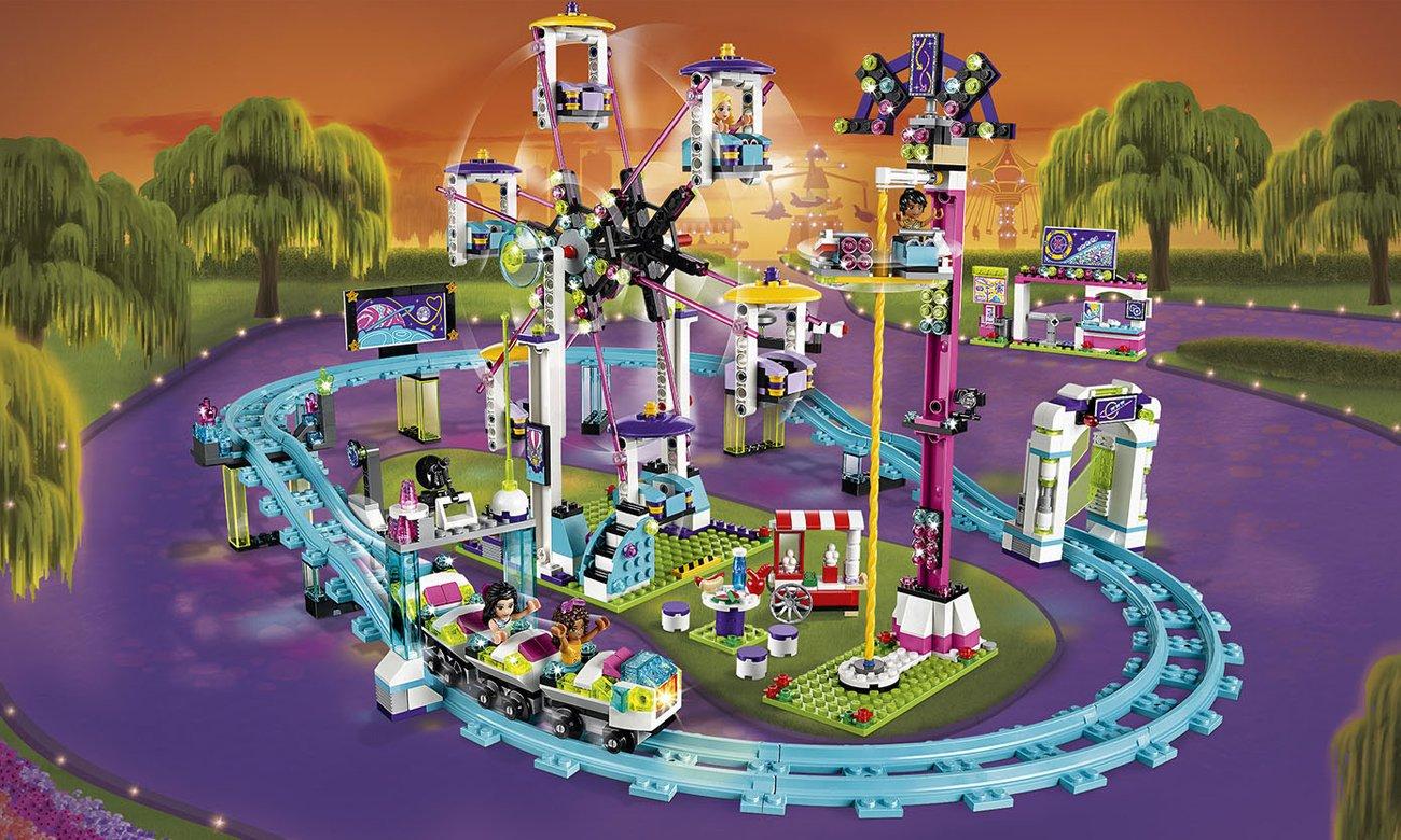 LEGO Friends Kolejka górska w parku rozrywki