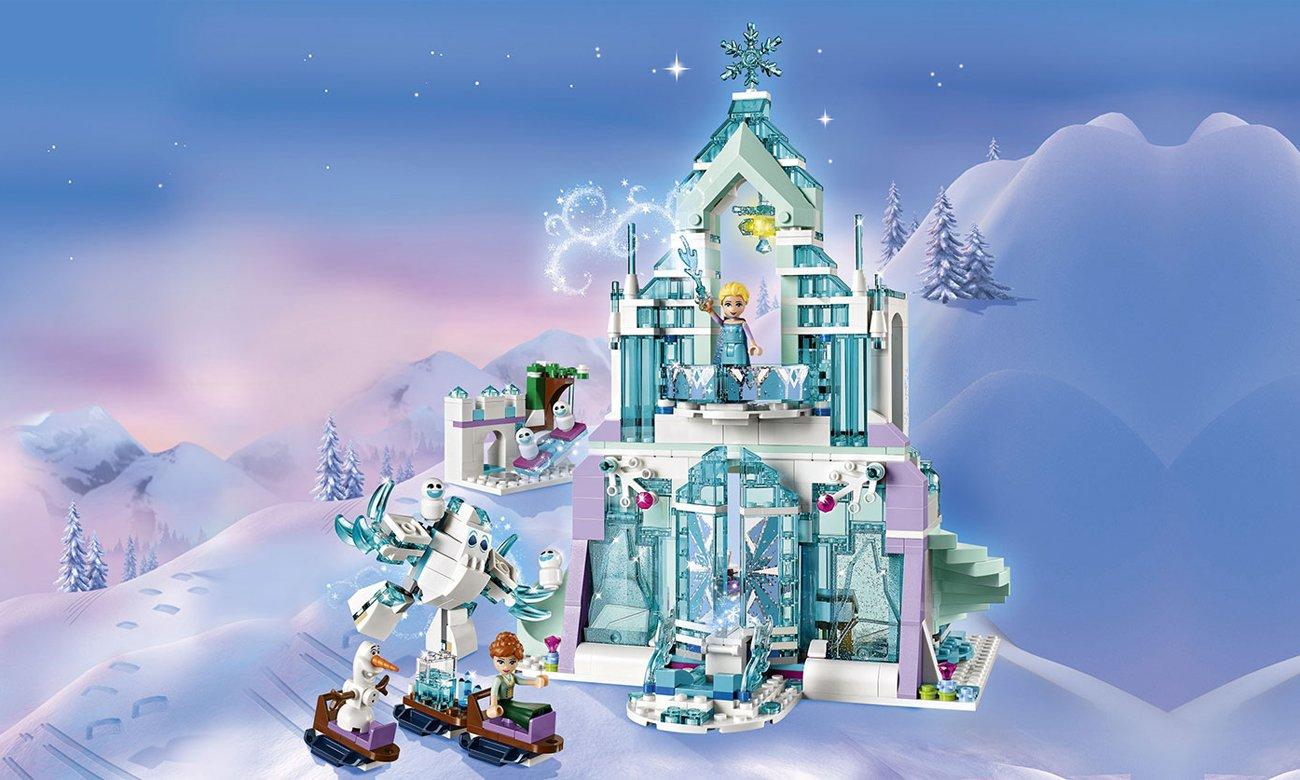 LEGO Disney Princess Magiczny lodowy pałac Elsy