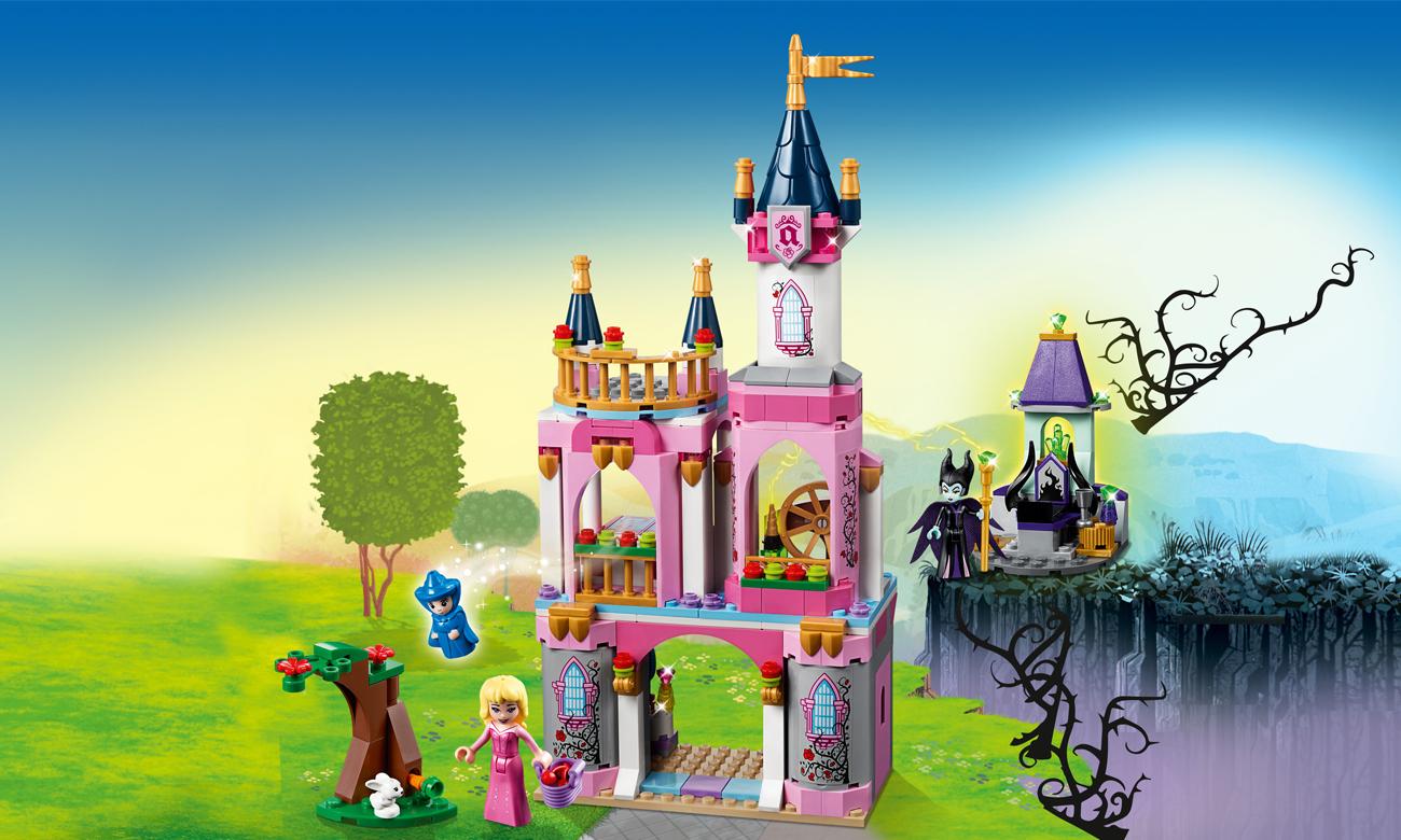 LEGO® Disney™ Bajkowy zamek Śpiącej Królewny