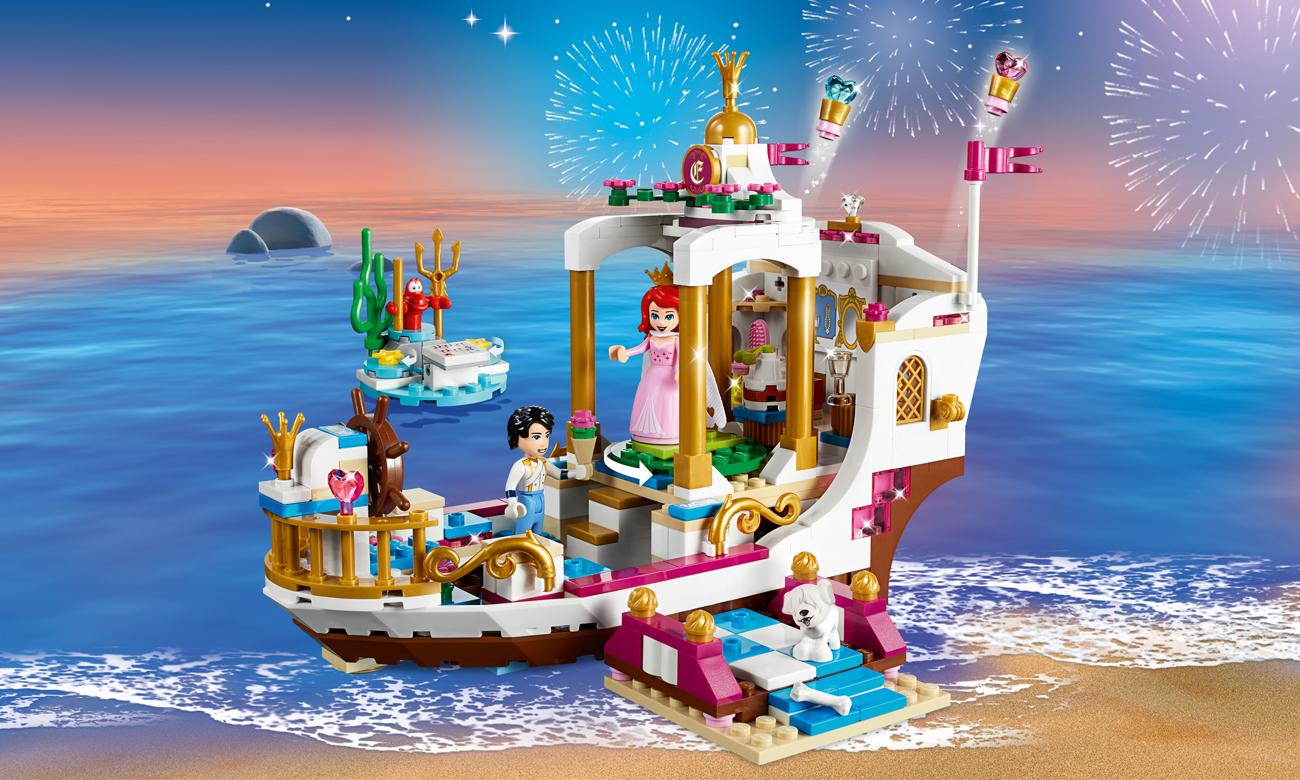 LEGO Disney Princess Uroczysta łódź Ariel