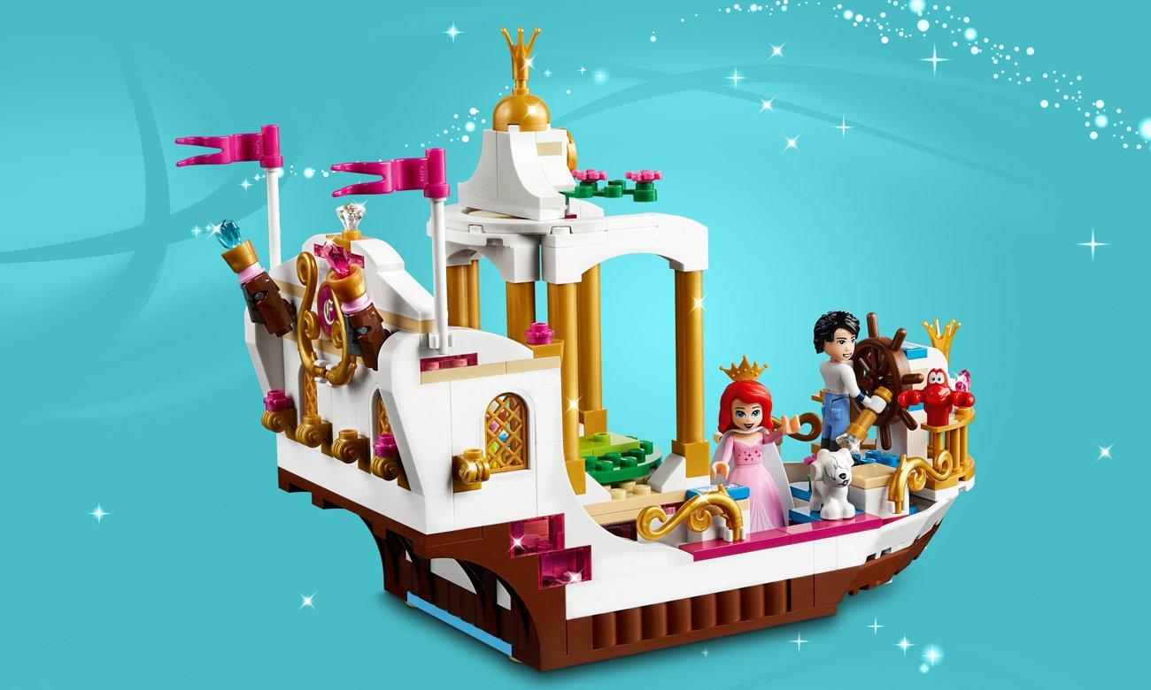 lego disney princess statek