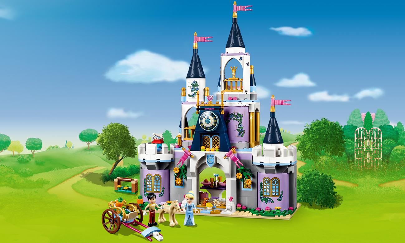 LEGO Disney Princess Wymarzony zamek Kopciuszka