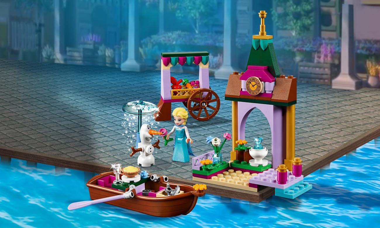 LEGO Disney Princess Przygoda Elzy na targu