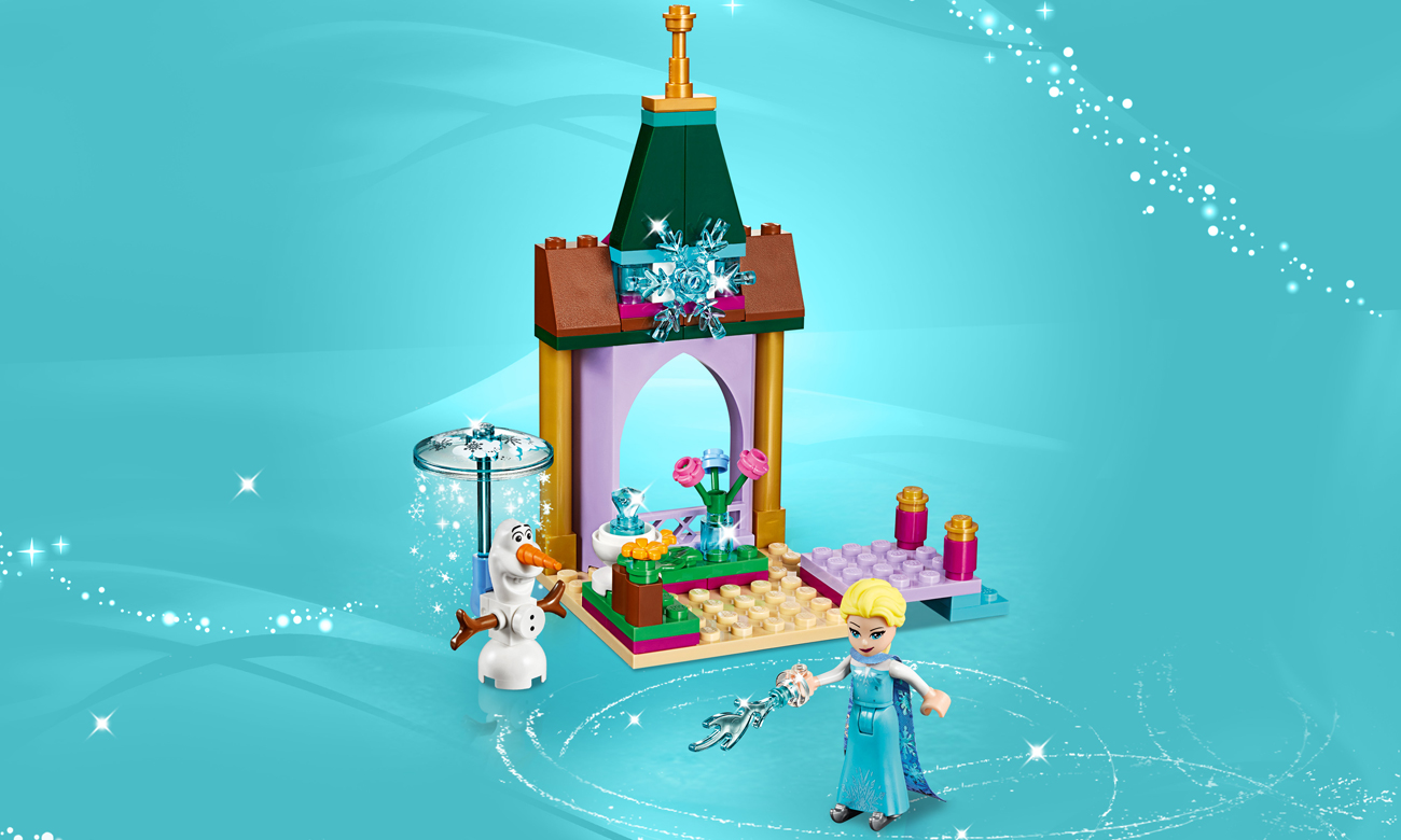 lego disney princess zamek