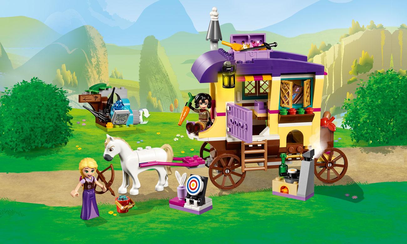 LEGO Karawana podróżna Roszpunki