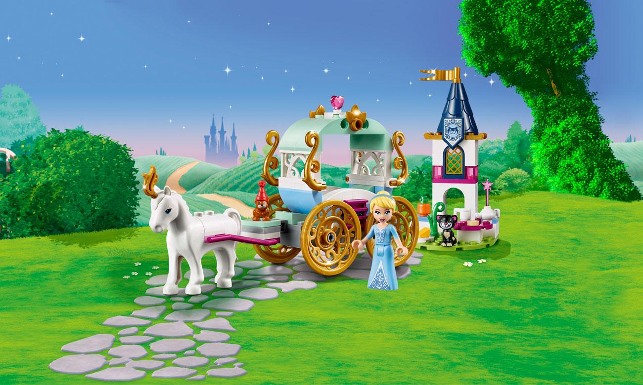 LEGO Disney Princess Przejażdżka karetą Kopciuszka