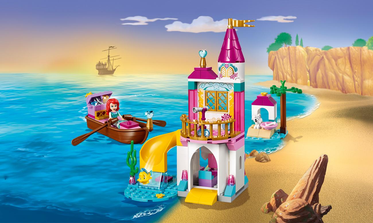 LEGO Disney Princess Nadmorski zamek Arielki