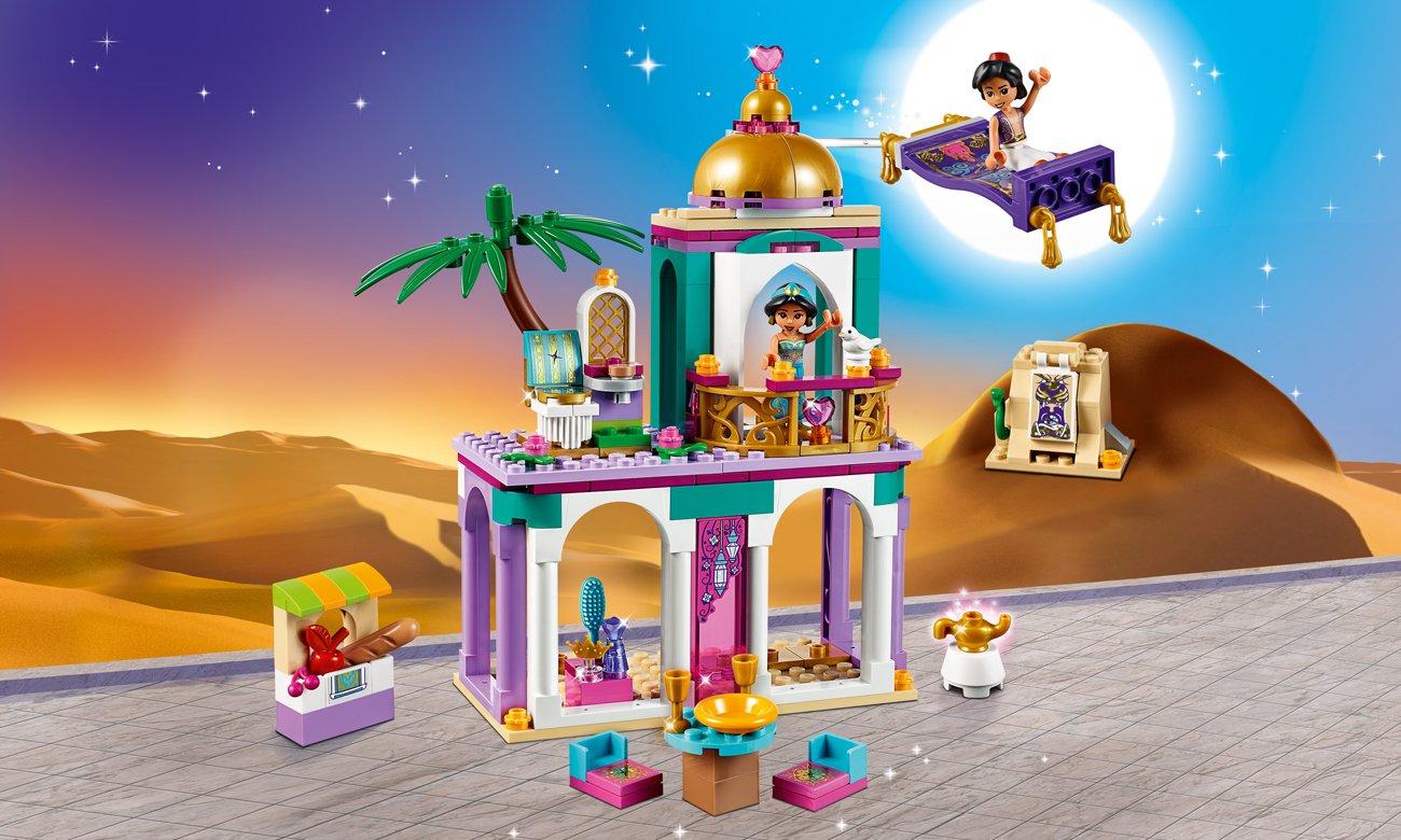 LEGO Disney Princess Pałacowe przygody Aladyna i Dżasminy