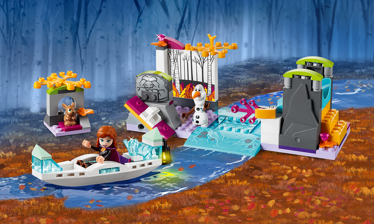 LEGO Disney Frozen Spływ kajakowy Anny