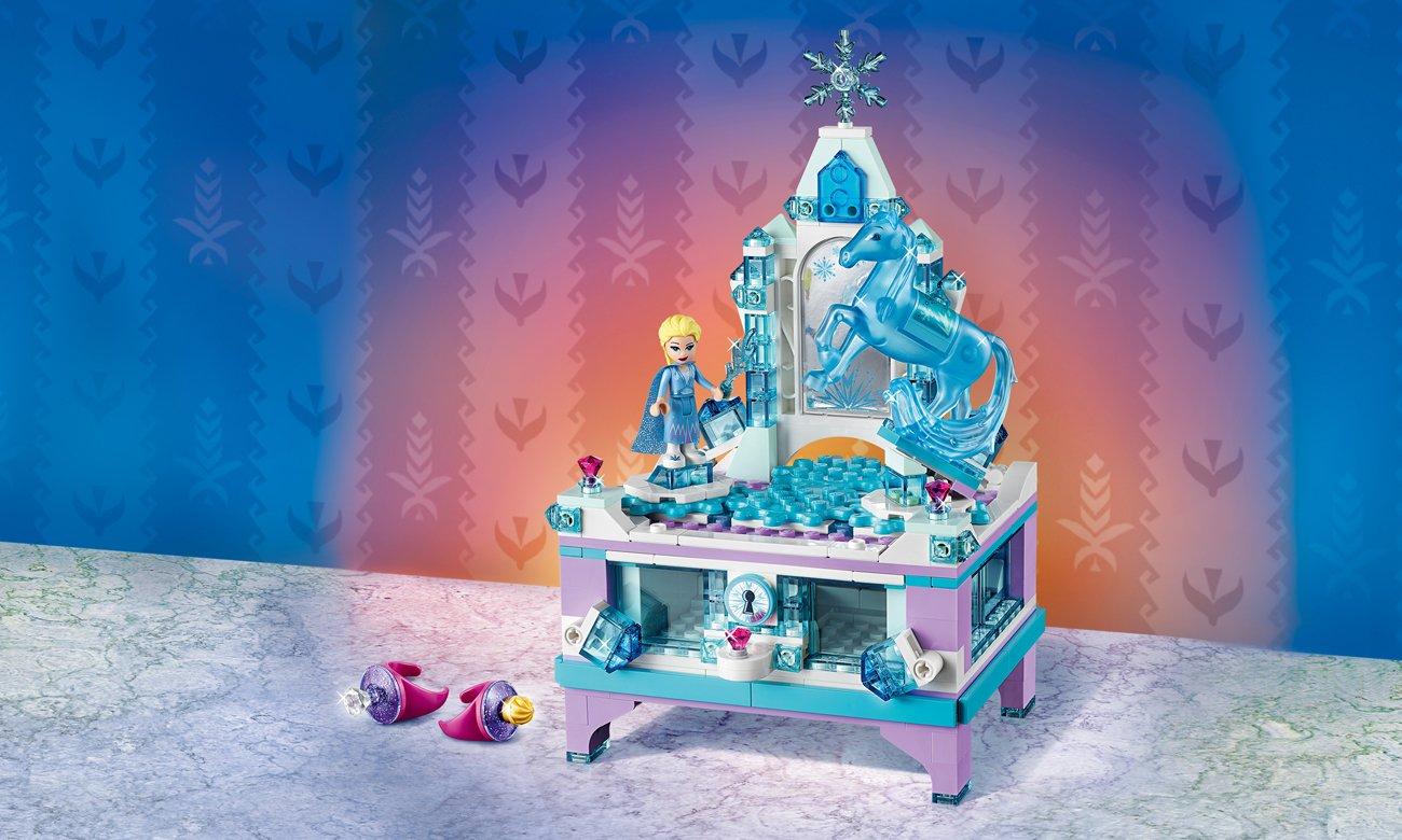 LEGO Disney Frozen 2 Szkatułka na biżuterię Elsy