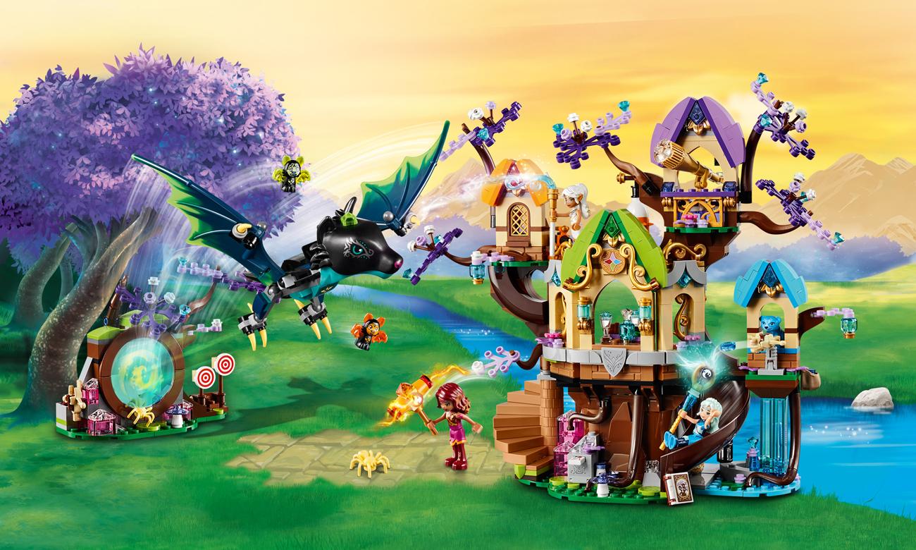 LEGO Elves Atak nietoperzy na Drzewo Elvenstar