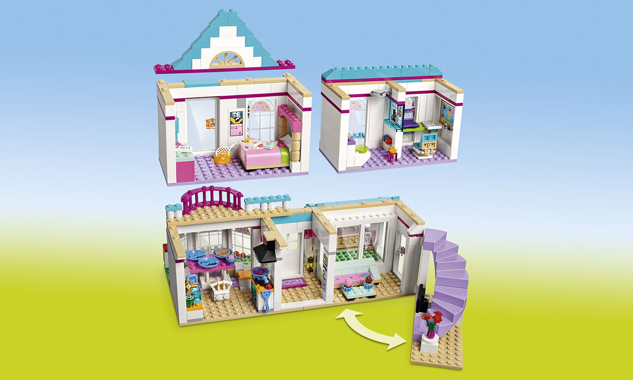 klocki lego dla dziewczynek