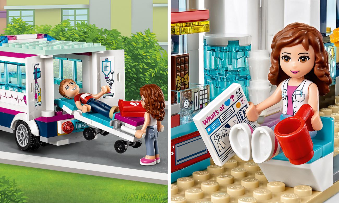 klocki lego szpital