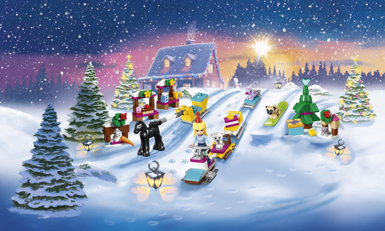Lego Friends Kalendarz Adwentowy Klocki Lego Sklep Internetowy