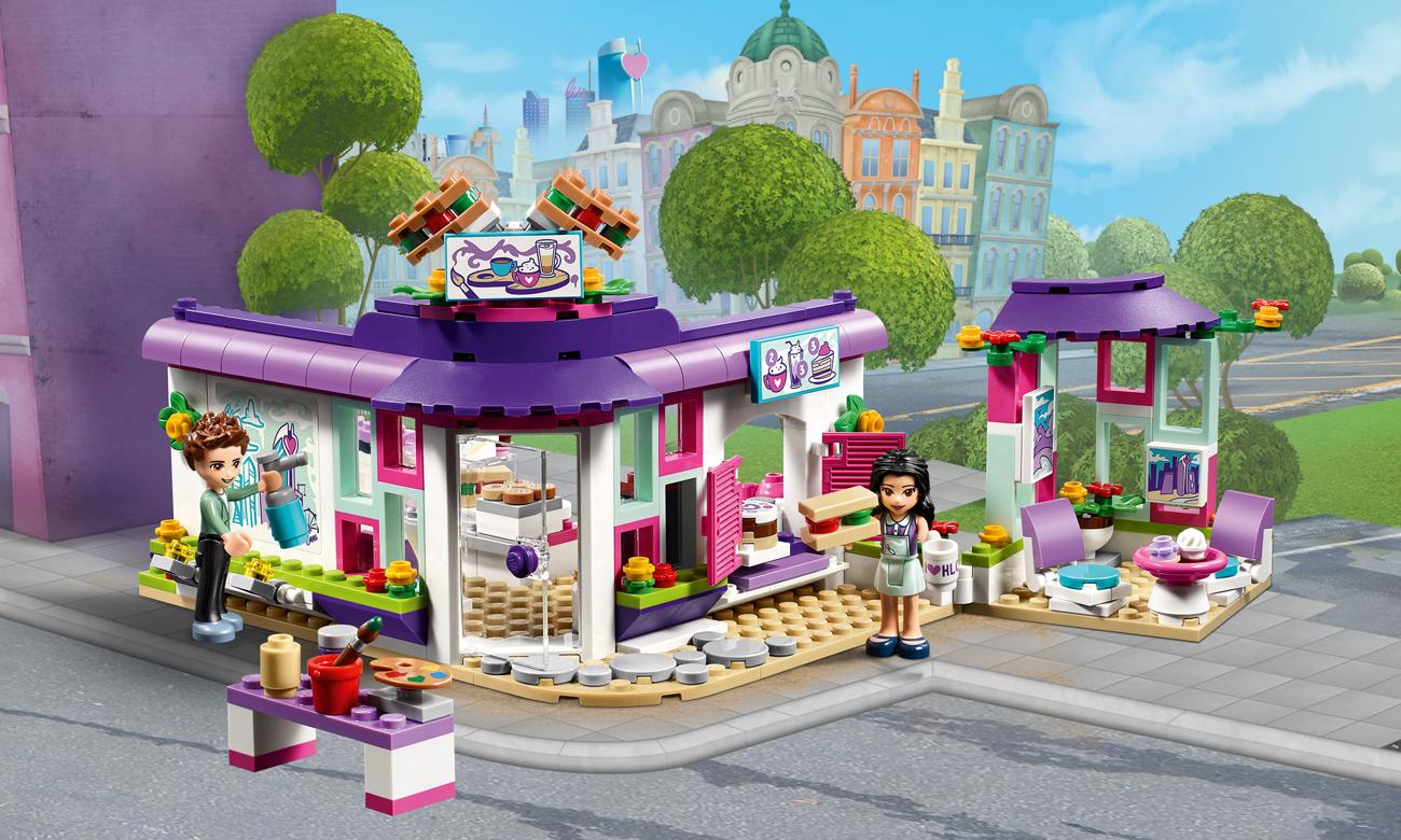 Lego Friends Artystyczna Kawiarnia Emmy Klocki Lego Sklep