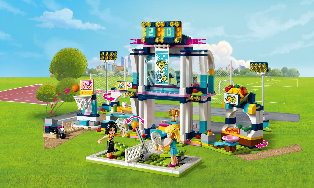 LEGO Friends Stadion sportowy Stephanie