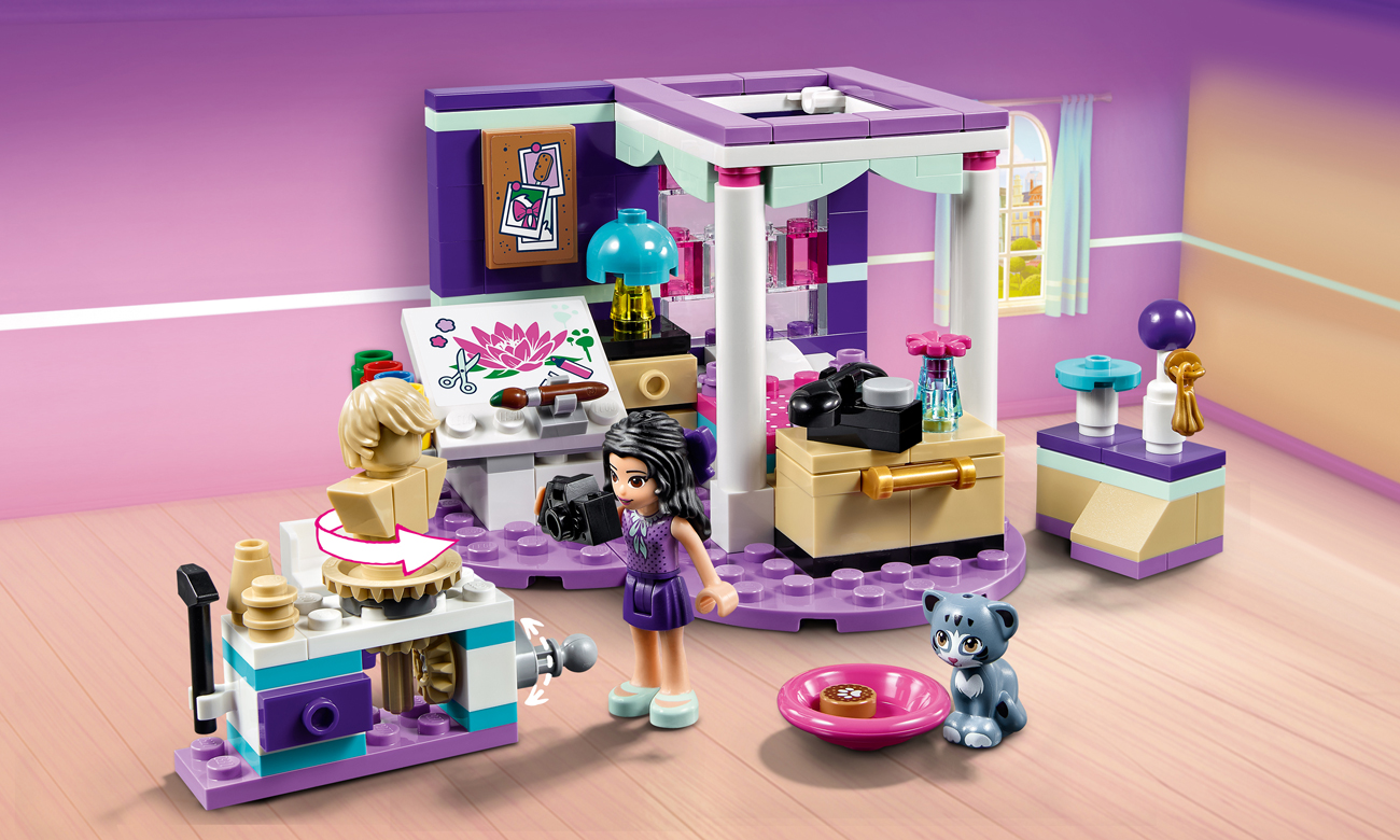 Lego Friends Sypialnia Emmy Klocki Lego Sklep