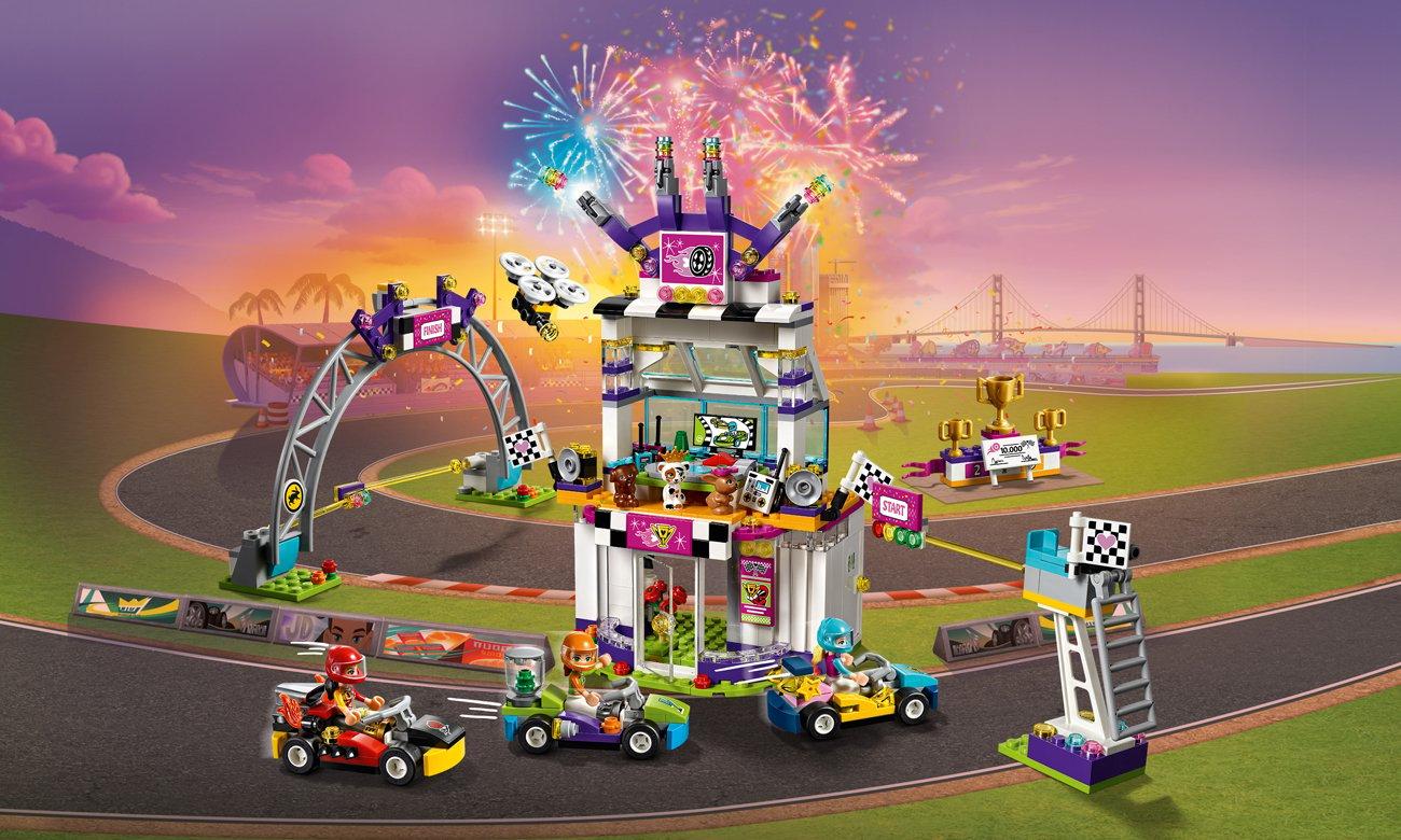 LEGO Friends Dzień wielkiego wyścigu